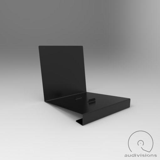 Alpha desktop vinyl record holder side view 2