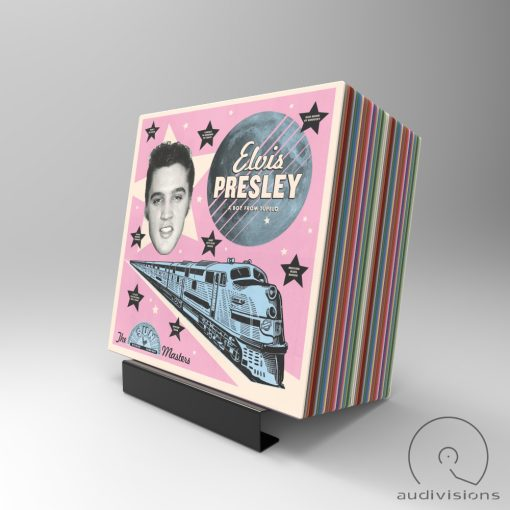Alpha desktop vinyl record holder view