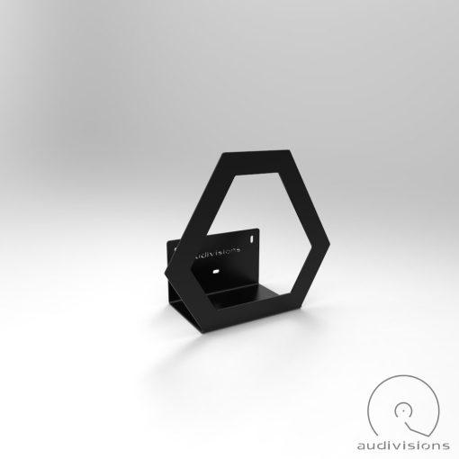 Hexa wall mounted vinyl rack