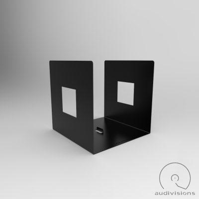 Alea desktop vinyl record holder side view 4
