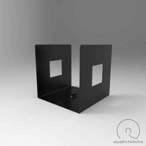 Alea desktop vinyl record holder side view 2