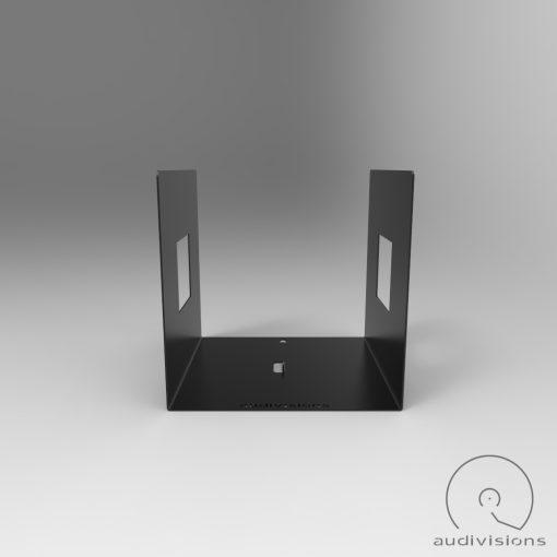 Alea desktop vinyl record holder side view