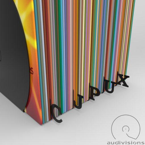 Navigator Horizontal record album organizer view