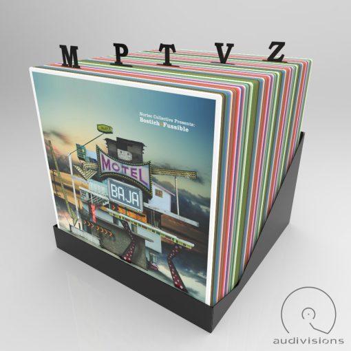 Navigator Vertical vinyl record divider view