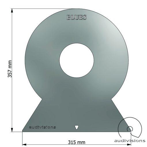 Selector (vertical) vinyl record organizer size