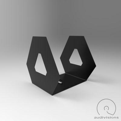 Hexa asztali bakelit tartó látvány oldalt